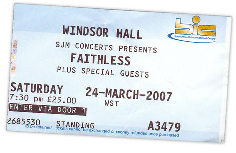 Ticketfaithless